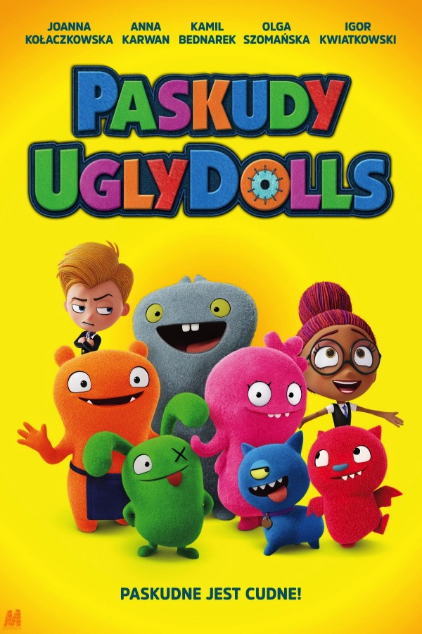 Paskudy. Ugly Dolls